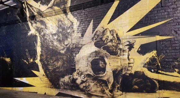 """O """"platformă internațională"""" de 5.000 de metri pătrați dedicată street art-ului se deschide la Bruxelles"""