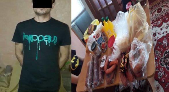 Un tânăr din Cricova, reținut pentru furt. A intrat în magazin și și-a luat tot de ce avea nevoie, iar acum riscă ani de închisoare