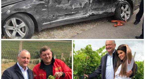 Nimeni în Moldova nu a spus asta! Fostul deputat rus, cunoscut pentru cursele pe ATV-uri la Reședința din Condrița era alături de Igor Dodon și în momentul accidentului