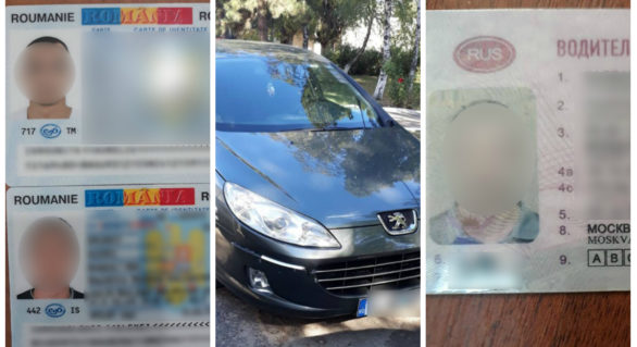 O mașină căutată de Interpol și acte falsificate, descoperite în Punctul de Trecere al Frontierei Sculeni