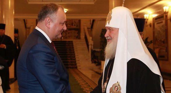 Vizita Patriarhului Kirill, se amână! Anunțul de ultimă oră al președintelui Dodon