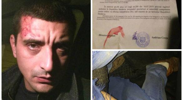 Filmul expulzării activistului unionist George Simion din Moldova și reacțiile care au trezit această acțiune a autorităților