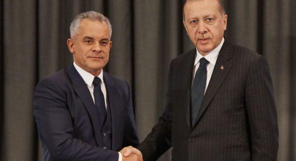 (VIDEO) Vlad Plahotniuc a avut o sesiune foto cu președintele Turciei, Recep Tayyip Erdogan