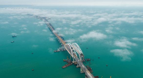 Anchetă SBU: La ridicarea Podului Crimeei, Rusia a fost ajutată de o firmă din Ucraina