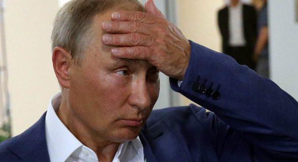 (SONDAJ) Cota de încredere a lui Vladimir Putin a scăzut puternic