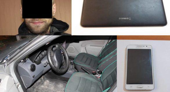 Chișinăuian, reținut în flagrant de proprietarul automobilului în care a pătruns. Acum riscă între 5 și 7 ani de închisoare