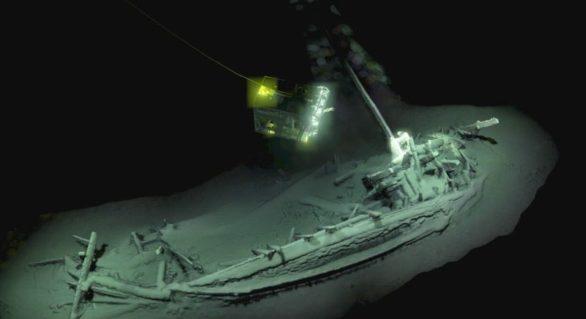Cea mai veche epavă intactă din lume, descoperită în Marea Neagră