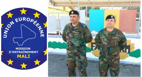 Doi militari ai Armatei Naționale, detașați în Misiunea UE de instruire militară și consiliere pentru forțele de apărare și securitate din Mali