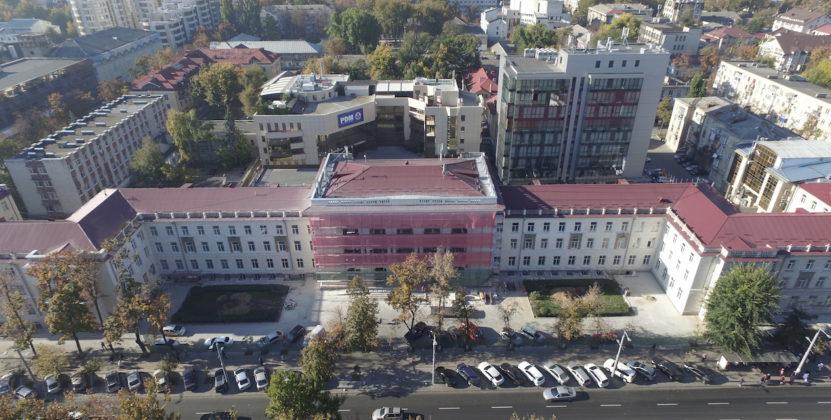 """Contract adițional pentru repararea viitorului sediu al Procuraturii Generale. Instituția alocă 3,4 milioane pentru eliminarea """"secerii și ciocanului"""""""