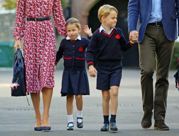 Emoții în familia regală britanică. Este prima zi de școală în clasa întâi a prințesei Charlotte. Așa cum obișnuiește, micuța a cochetat cu fotografii