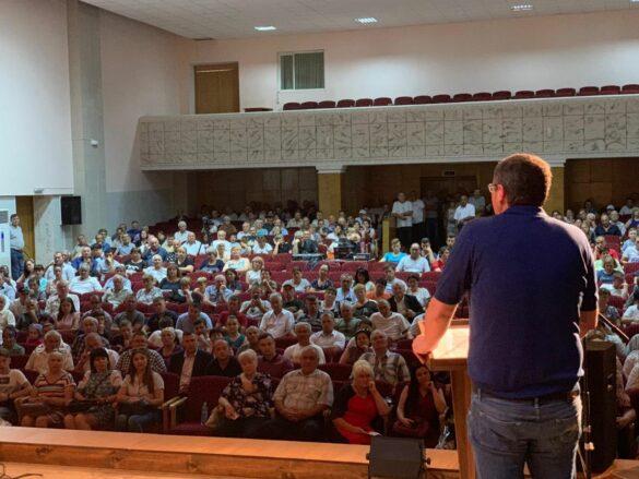 Usatîi, la Glodeni: Eu nu sunt politicianul de buzunar nici al Estului, nici al Vestului; sunt gata să fiu sluga poporului